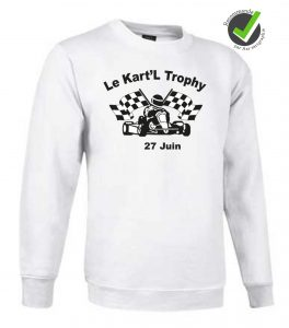 Sweat-shirt mixte TOP manches longues Image